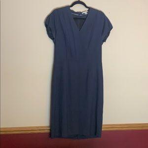Banana Republic size 12 career dress. Navy blue